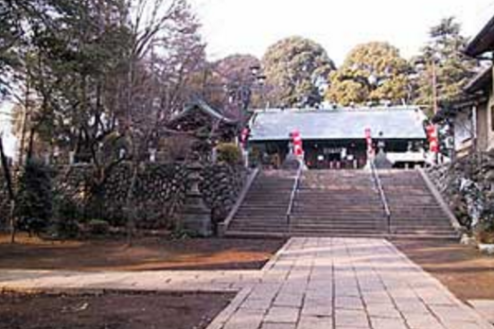 11.神社|参道から社殿正面