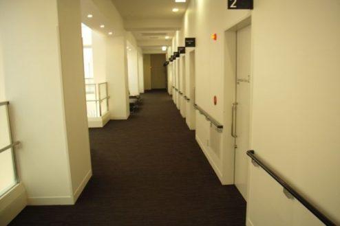 14.病院2|廊下