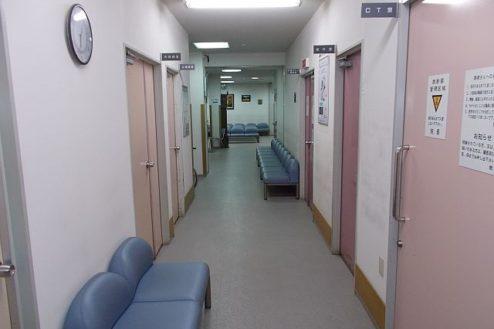 11.病院1|廊下