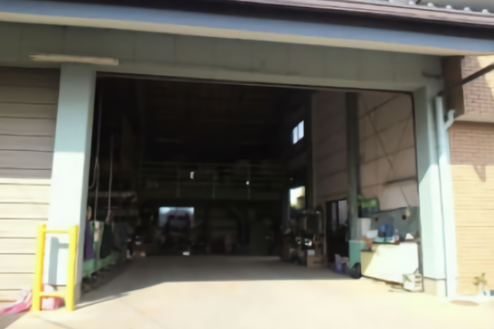 B中型の倉庫|出入口