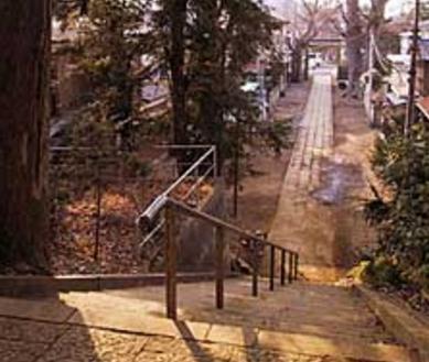 E神社|参道