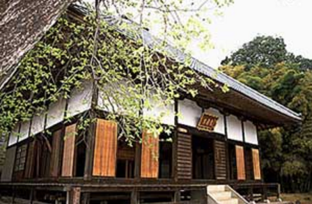 A日高市のお寺|お堂外観