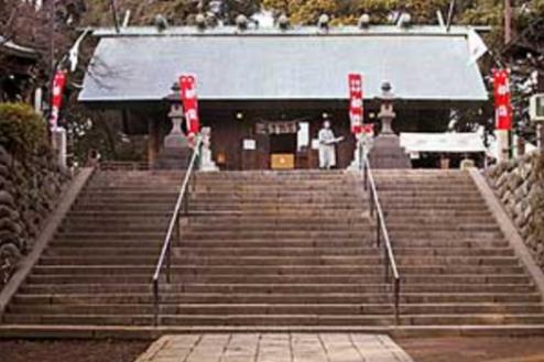 7.神社|社殿正面