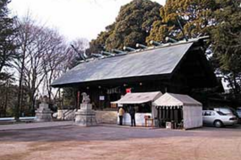 I神社|社殿