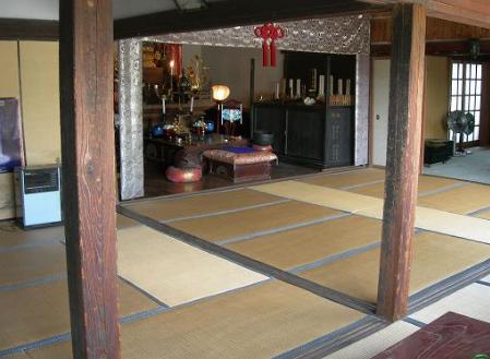 1.寺|お堂内・和室