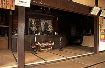 E日高市のお寺|お堂内・和室