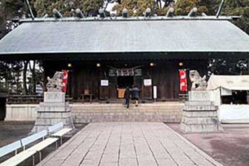 K神社|社殿正面
