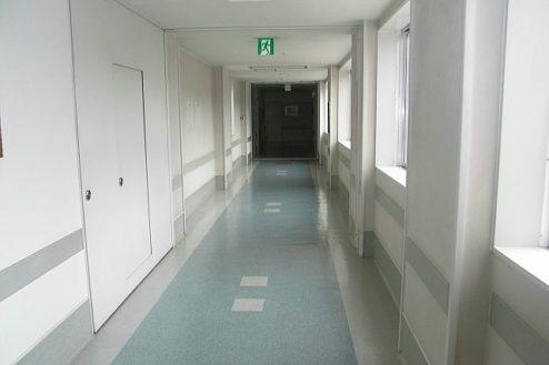 D病院3|廊下