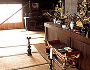 F日高市のお寺|お堂内