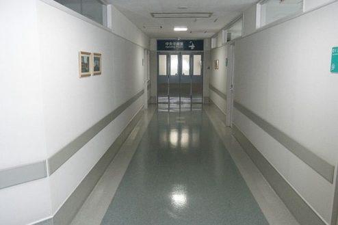F病院3|廊下