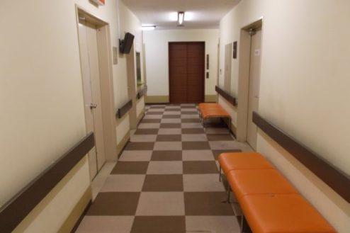 12.病院5|廊下