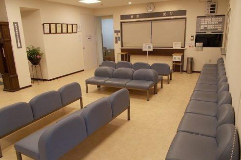 7.病院1|ロビー待合室
