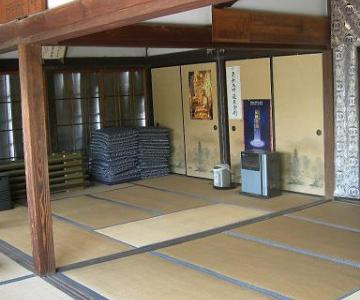 4.寺|お堂内・和室