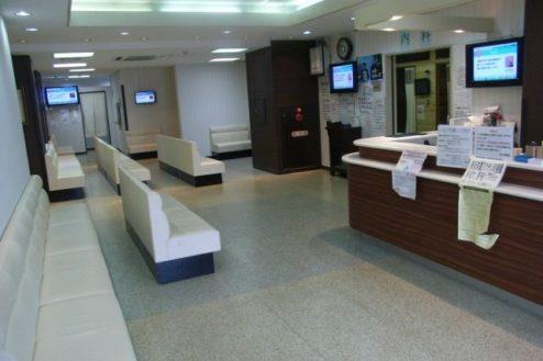 8.病院5|ロビー・受付・待合室