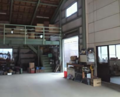 1.中型の倉庫|倉庫内