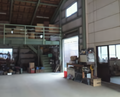D中型の倉庫|倉庫内