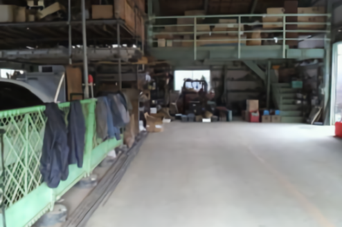 C中型の倉庫|倉庫内
