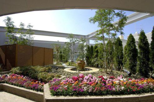 12.タイムズ・スパ・レスタ|12F屋上庭園