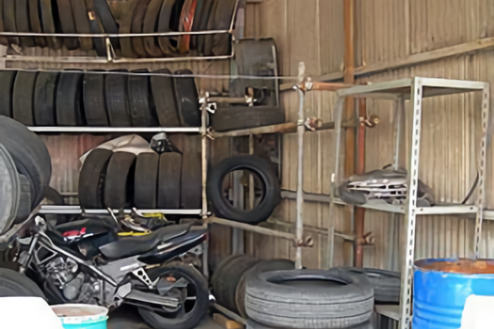 H自動車整備工場|工場内