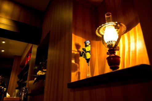 G玉響カフェ(たまゆらかふぇ) 店内照明