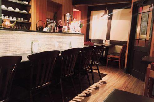 A玉響カフェ(たまゆらかふぇ) 店内カウンター席