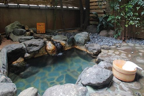 F大月ホテル和風館|客室露天風呂