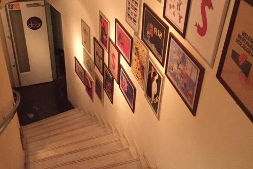 13.レストランSidedoorヒシオ|階段