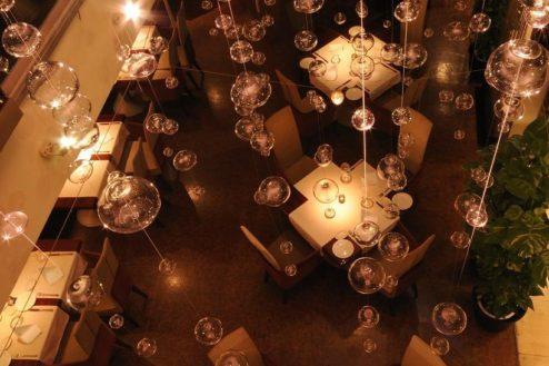 CレストランSidedoorヒシオ|ホール俯瞰