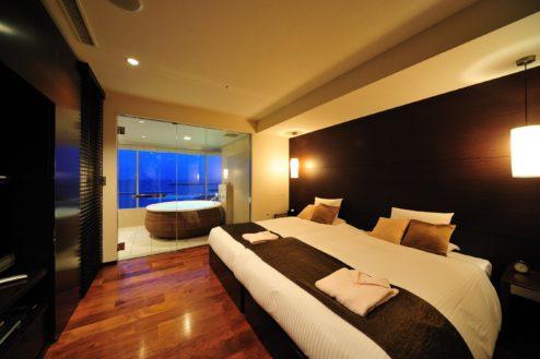 Eホテルミクラス|スイートベッドルーム