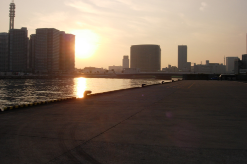 11.埠頭1|夕景
