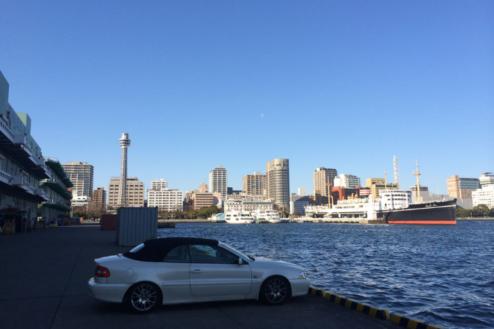 4.埠頭11|マリンタワー、氷川丸方向