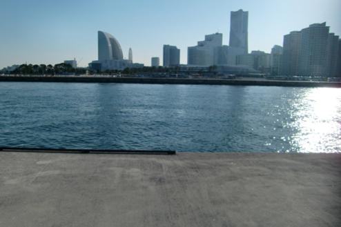 5.埠頭1|対岸にみなとみらい