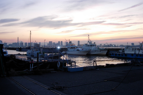 7.埠頭3|夕景