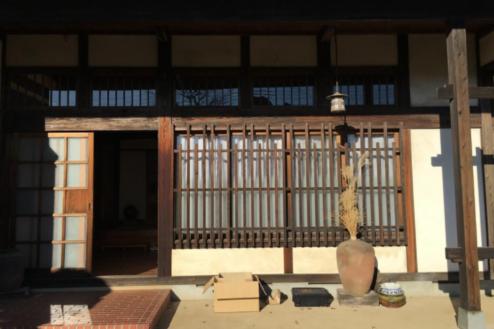 18.古民家|玄関外