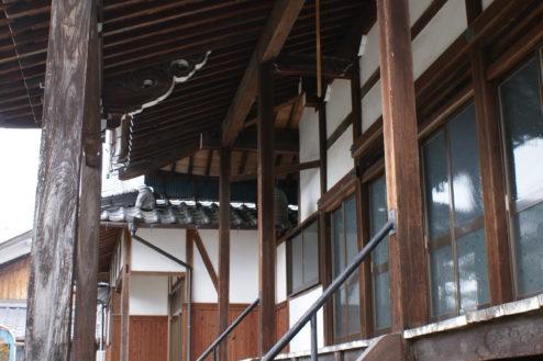 H順徳寺|本堂外観横