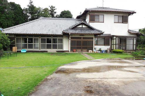 15.庭付き日本家屋|正面外観
