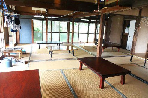 7.城の埼の民家|大広間(和室)