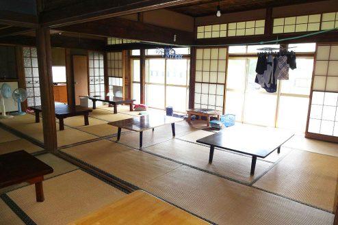 8.城の埼の民家|大広間(和室)
