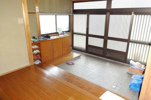 11.城の埼の民家|玄関