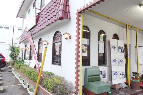 10.街の小さな洋食屋さん|店舗外観(入口付近)