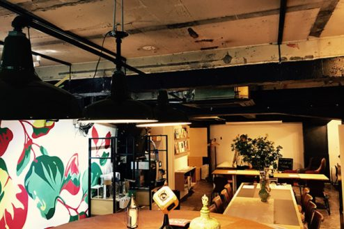 6.cafeイベントスペース|店内・全景