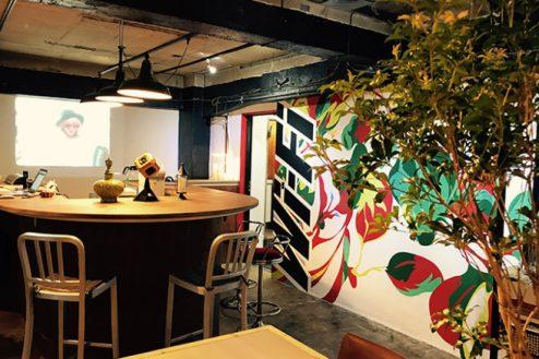 E.cafeイベントスペース|店内・カウンター