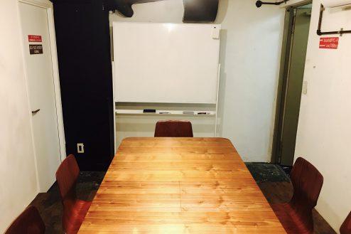 O.cafeイベントスペース|店内・ホワイトボード