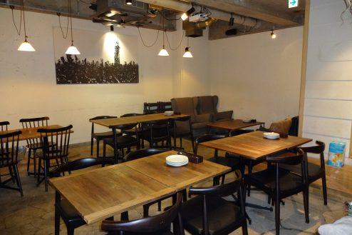 4.麻布十番イタリアンラウンジ|ダイニング・テーブル席