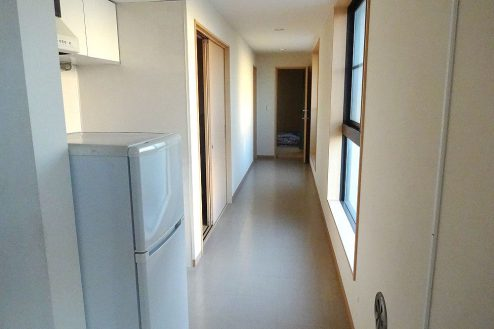 15.合宿・宿泊施設|廊下
