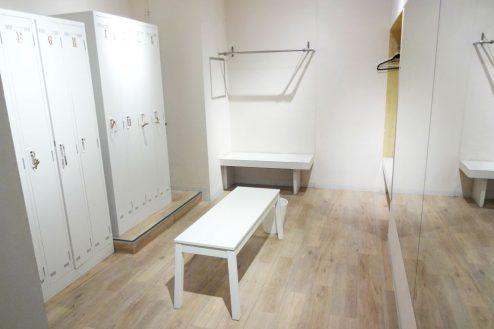 2.ボルダリング・クライミングジム|更衣室