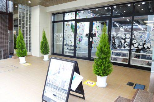 15.ボルダリング・クライミングジム|店舗前スペース