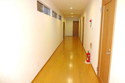 20.旅館・うり坊|新館・合宿室・廊下