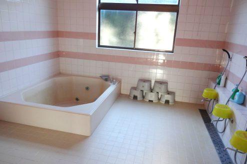 11.九十九里・合宿所|浴室(女湯)