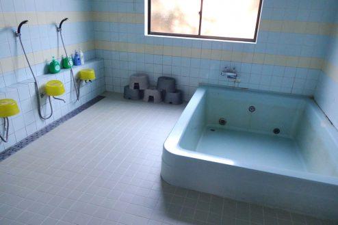 12.九十九里・合宿所|浴室(男湯)